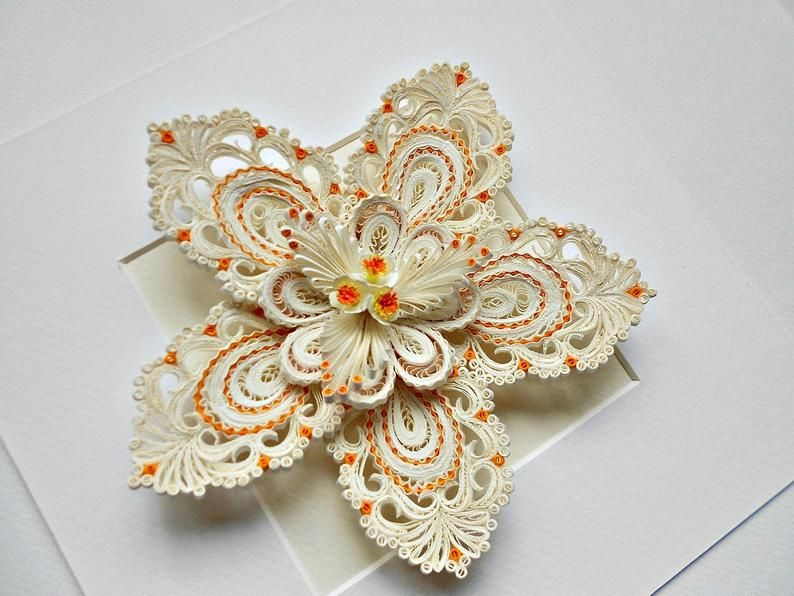 Quilling Flower Wall Art 3d Flower Wall Hanging Quilling