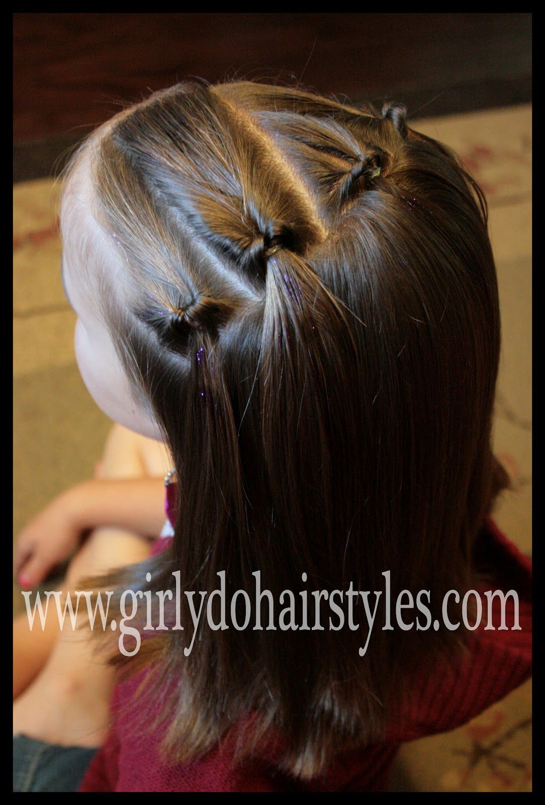 Girly dous by jenn easy summer knots quick style haircabello