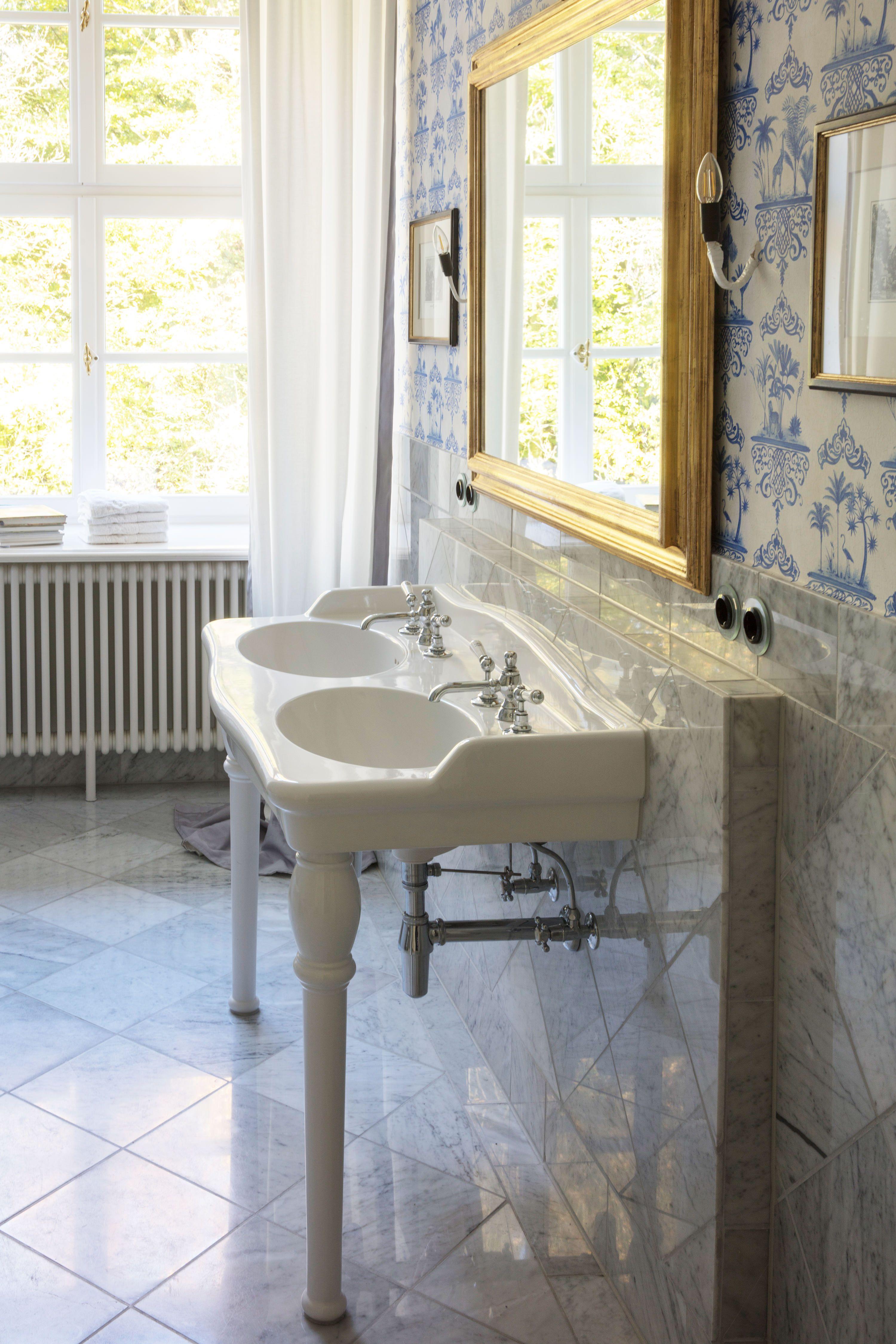 Nostalgie Waschtisch Waschbecken Traditionelle Bader Waschtisch