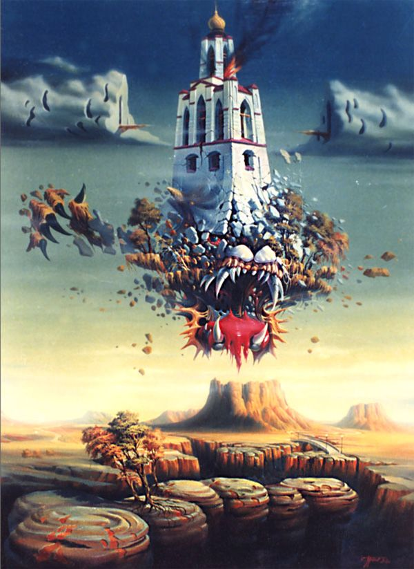 Surrealist artwork would be truly random to be classified as such ...