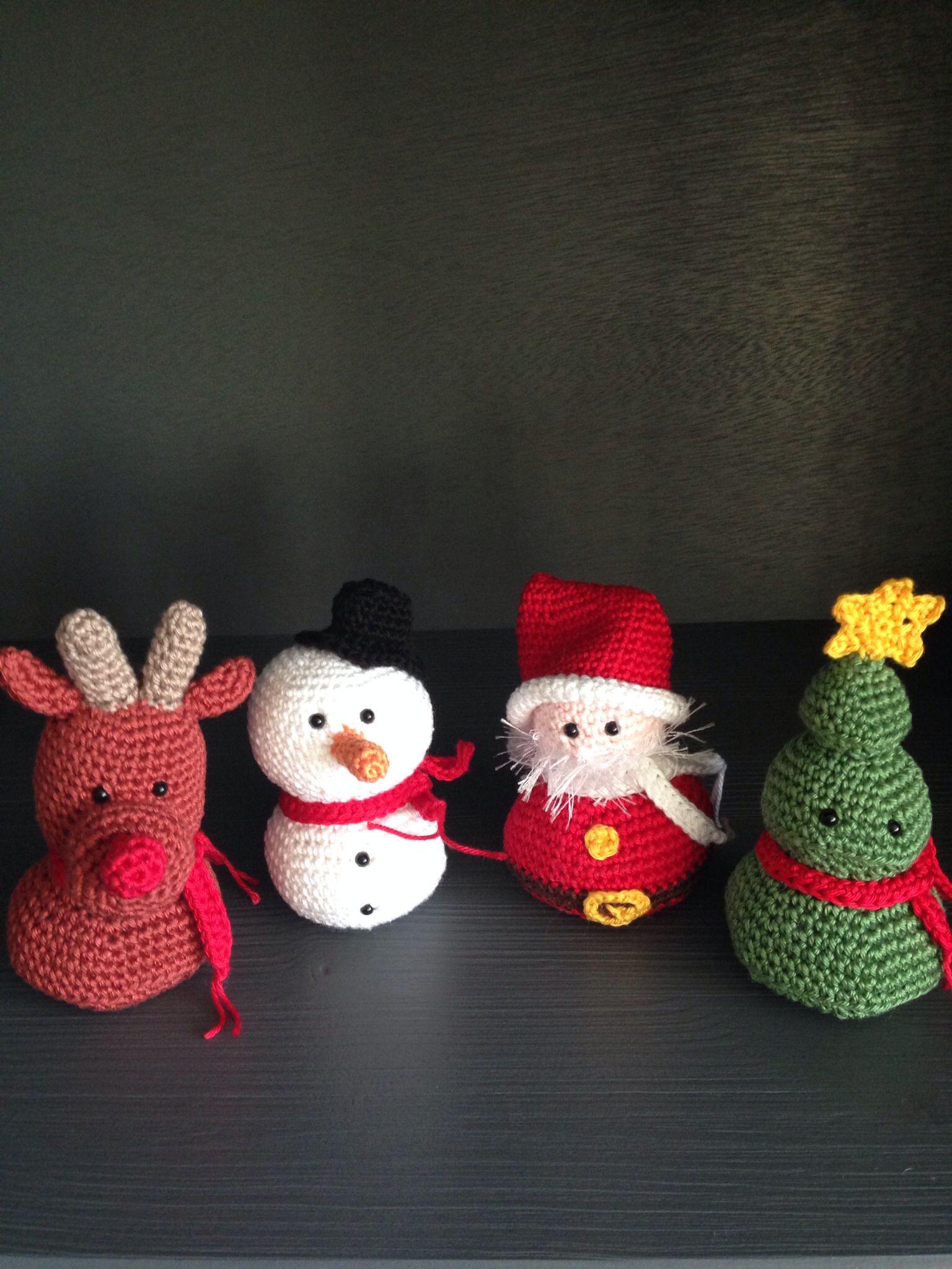 Kerstversiering Haken Kerst Pinterest Weihnachten