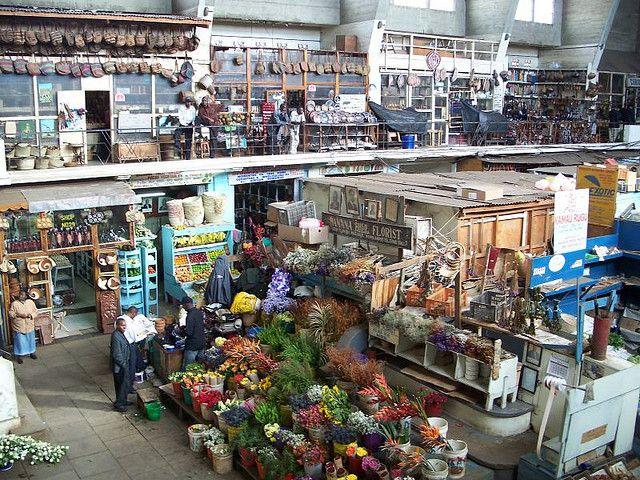 City Market In Nairobi I Always Love The Flowers Kenya Nairobi City Market Kenya