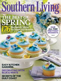 Southern Living Magazine April Issue - Southern Living