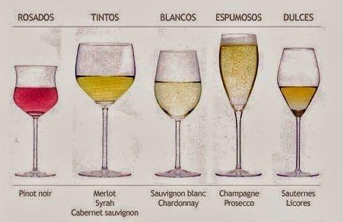 Infograf a vinos tipos de 489 317 p xeles 4 6 for Tipos de copas