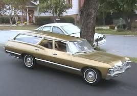 We Had A 1967 Impala Station Wagon It Was Originally Blue But