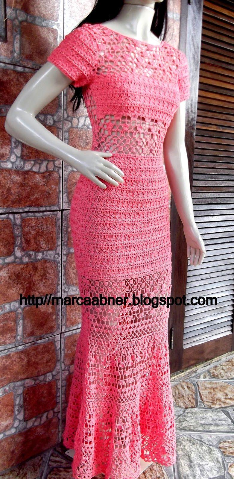 Marcinha crochê: vestidos de crochê | Crochet Wearables ...