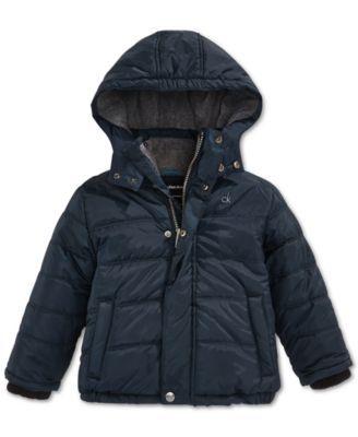 e493ca646b7a Calvin Klein Little Boys  Puffer Coat