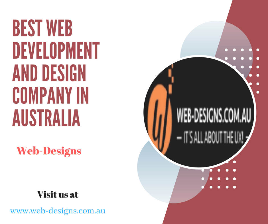 Web-Designs is leading #WebDevelopment and design company in