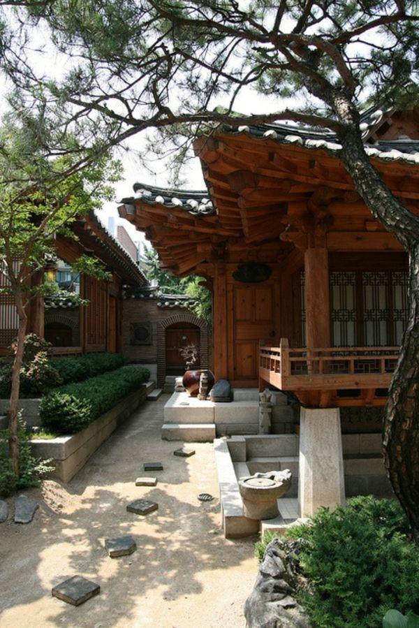 construction en bois pour votre maison japonaise. Black Bedroom Furniture Sets. Home Design Ideas
