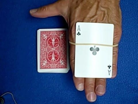 Card Trap Rubber Band Card Trick Revealed Youtube