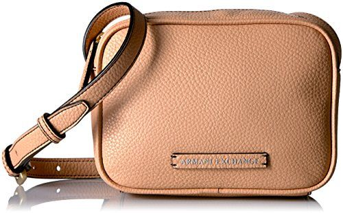 dc83ba91833f AX Armani Exchange Pebble Pu Crossbody Bag Nude     Click image to ...