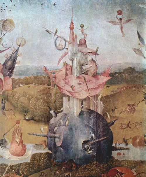 Bosch Hieronymus Der Garten Der Lüste Mitteltafel Der Garten Der