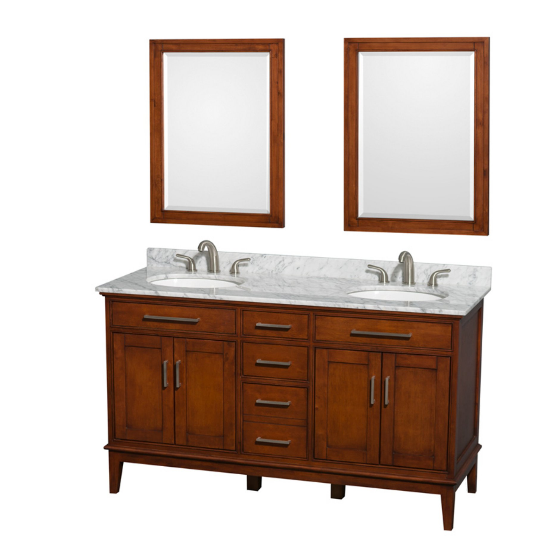Wyndham collection wcvdcl hatton in double bathroom vanity