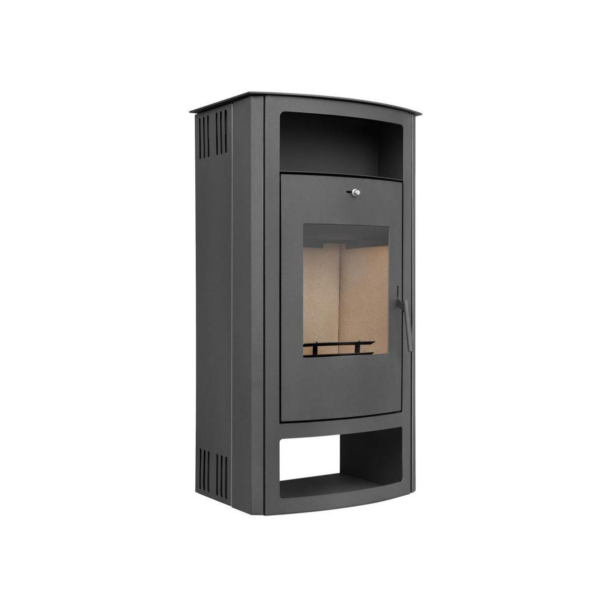 Piec Kominkowy W11 Szary 6 7 Kw Ackerman Piece Kominkowe W Atrakcyjnej Cenie W Sklepach Leroy Merlin Locker Storage Home Decor Storage