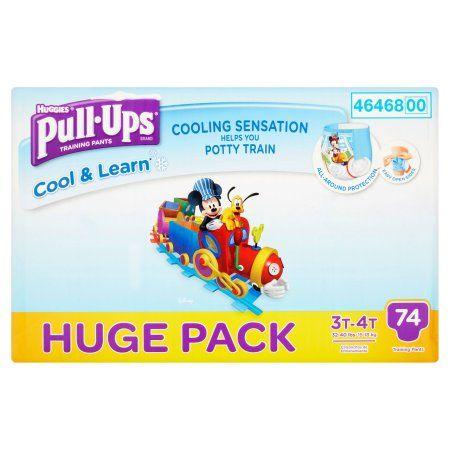 Huggies Pull Ups 3t 4t Training Pants 74 Count Huggies Pull Ups