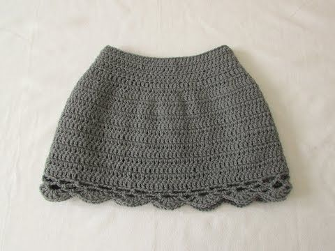 c62bef368 VERY EASY pretty crochet skirt tutorial - all sizes (baby to adult ...