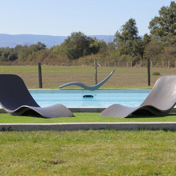 Transat de jardin aloha anthracite inspiration d co for Transat exterieur design