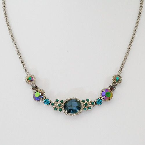 Sorrelli Emerald City Crystal Pendant Necklace.  Great color and sparkle for every day. $60.00