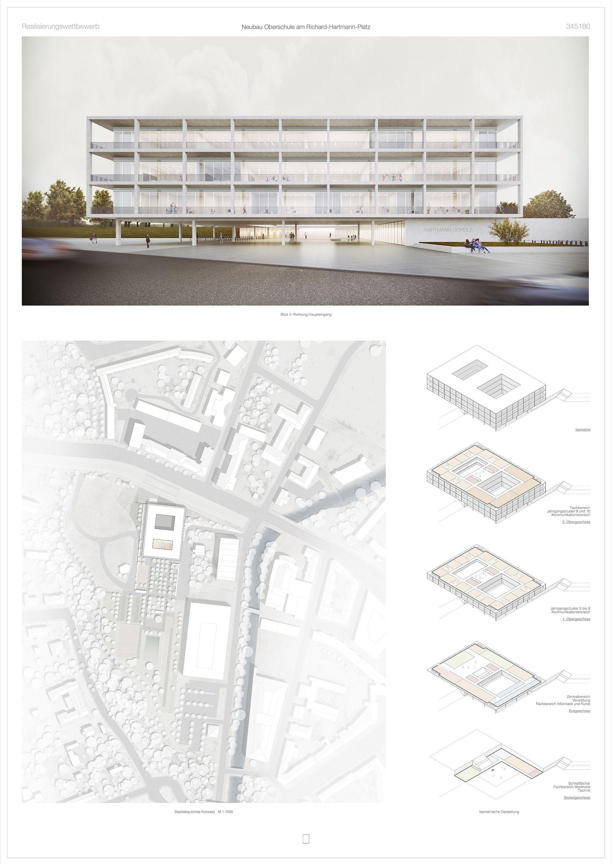 1. Preis: © CODE UNIQUE Architekten GmbH + impuls°Landschaftsarchitektur GbR #architektonischepräsentation