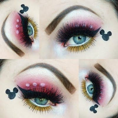 Mickey Mouse | makeup | Pinterest | Mickey mouse, Mice and Makeup