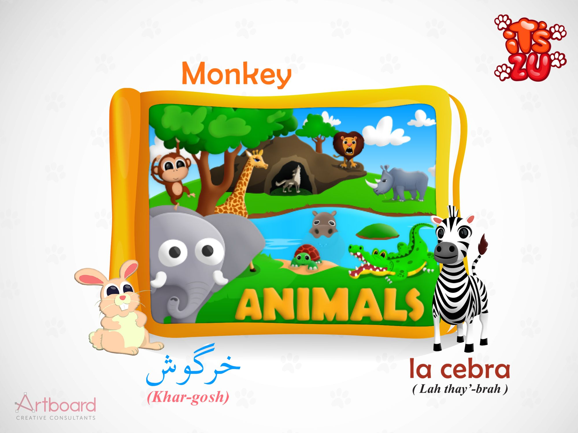Learn Animals with Zu! An iOS based interactive multi