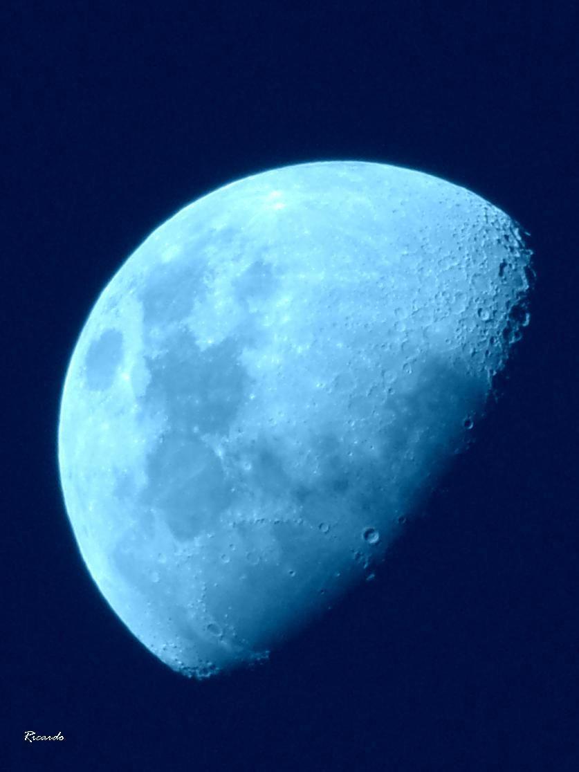Luna Cuarto Creciente a los 10 días. 20 de Noviembre 1 | Luna de ...