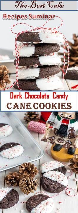 645 Reviews Dark Chocolate Candy Cane Cookies Dark Chocolate