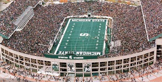 Msu Football Michigan State Football East Lansing Michigan Michigan State University Football