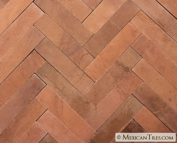 Mexican Tile - 2x8 Unglazed Natural Siena Ceramic Tile in ...