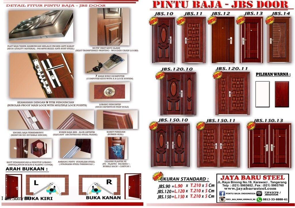 Supplier Baja Ringan Di Semarang Pintu Bagus Jbs