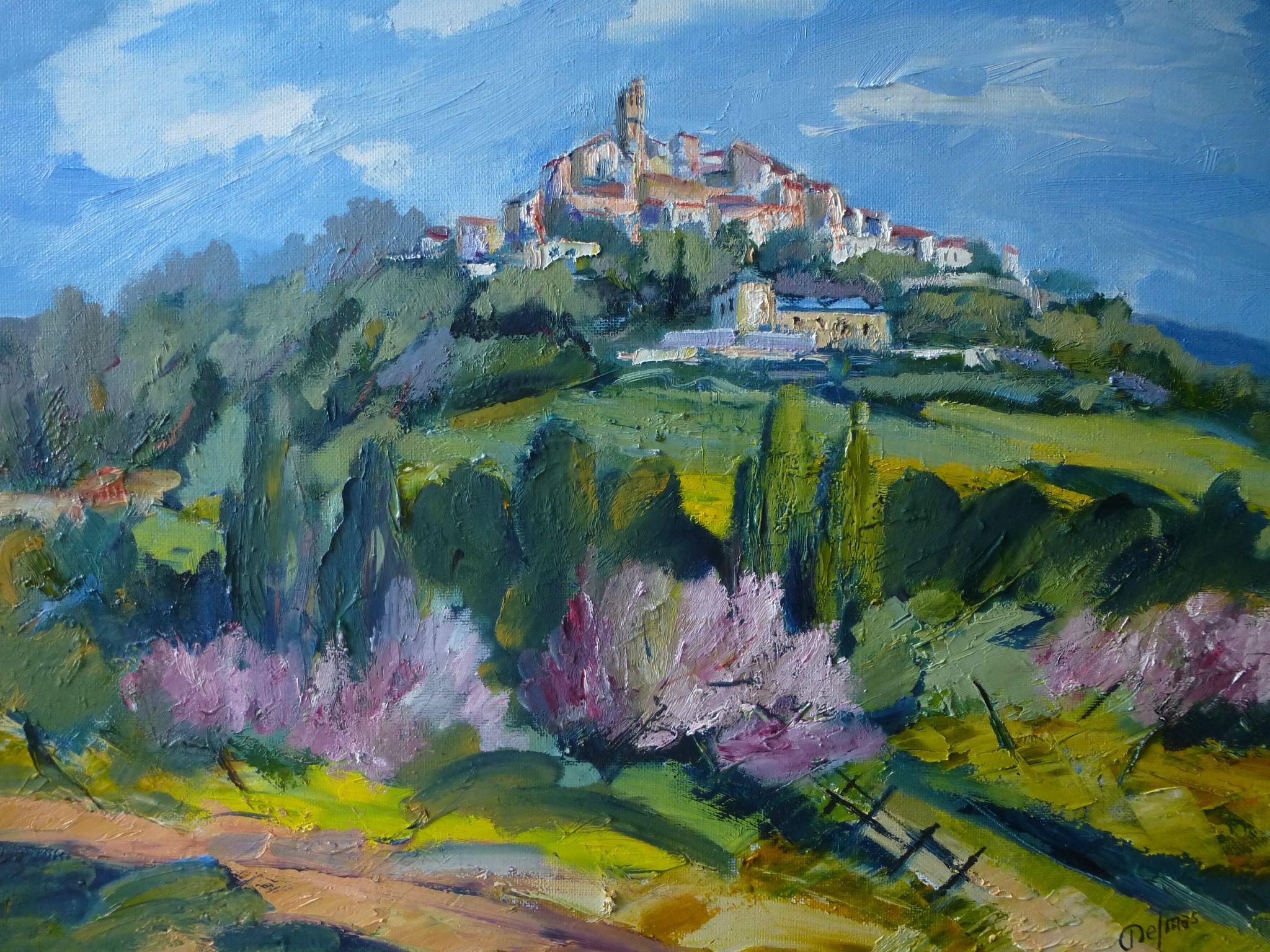 Site Peinture A L Huile De Provence Peinture A L Huile
