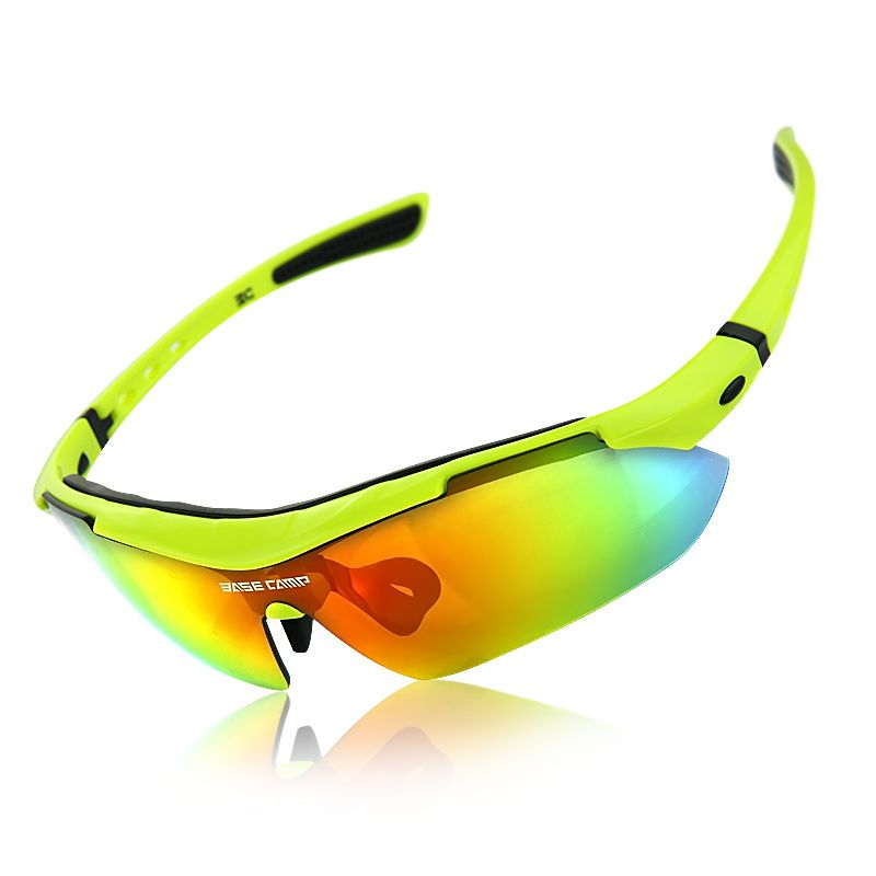 4169261fc1b6 2017 Hot BASECAMP Cycling Glasses Polarized UV400 Men 3 Lens Outdoor Sport  Mountain Road Bicycle MTB Cycling Fishing Sunglasses