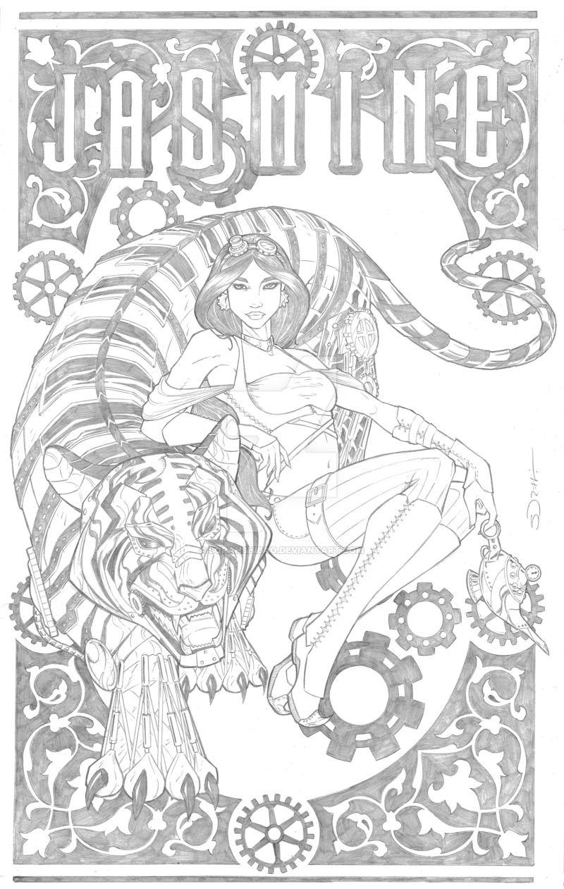 Steampunk Jasmine by sorah-suhng.deviantart.com on @DeviantArt ...