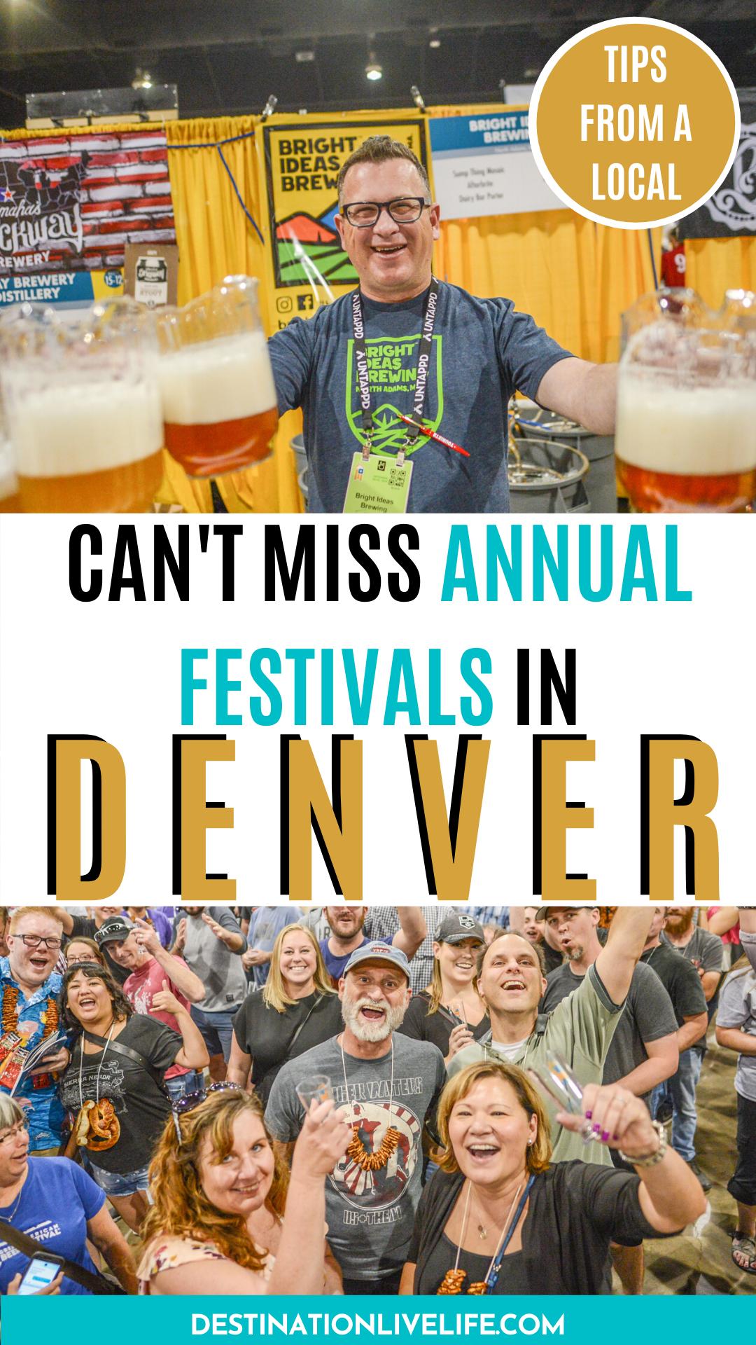 Annual Denver Festivals Worth Attending In 2020 Denver Travel Denver Travel Guide Foodie Travel Usa