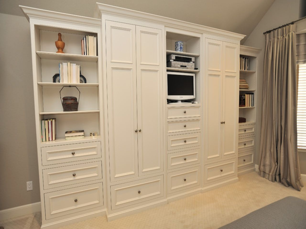 BedroomWallUnitsWithDrawersMasterBedroomWallStoragewhite - Bedroom furniture with lots of storage