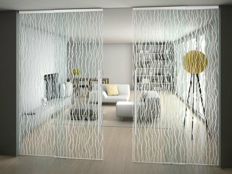 Wohnzimmer Glastür ~ Halbtransparente innentüren aus glas im wohnzimmer Татьяна