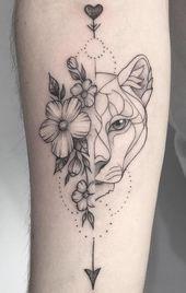 I 70 migliori tatuaggi di leoni su Internet [Masculinas e Femininas]  Adoro # …