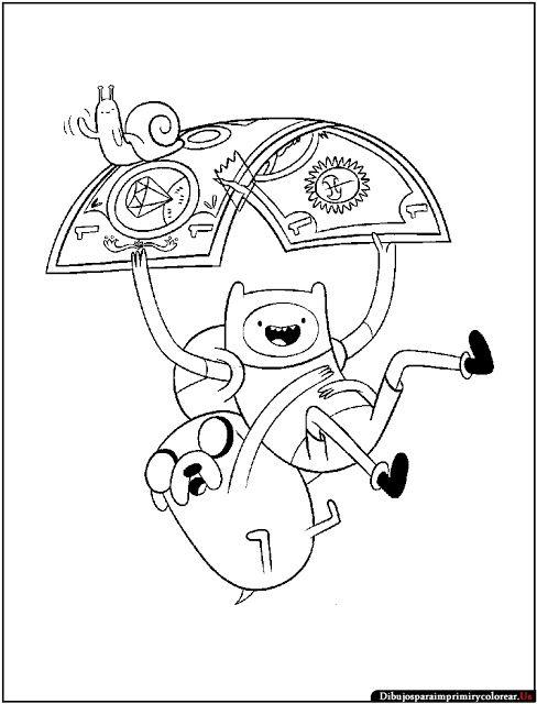 Dibujos de Hora de Aventuras para Imprimir y Co… | Adventure Time ...