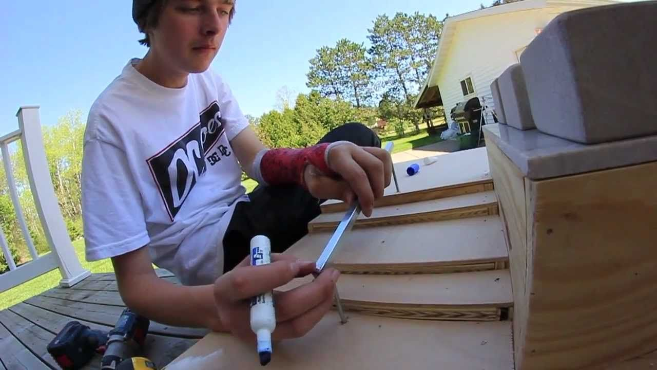 How To Build A Fingerboard Park Mix Park Tech Deck Projects To Try