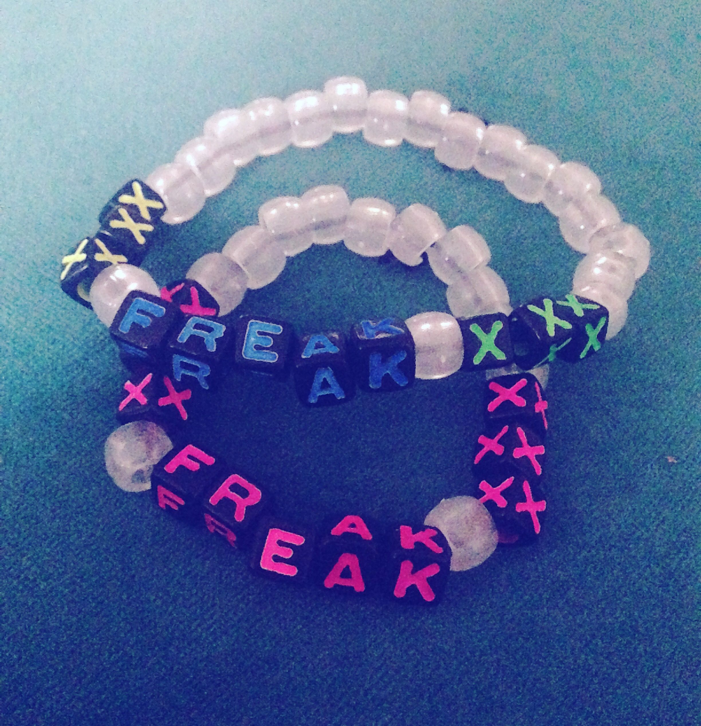 and hers kandi ravers music freak bracelets festival heyy pin his rave bracelet