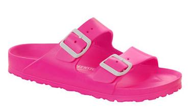 light pink rubber birkenstocks
