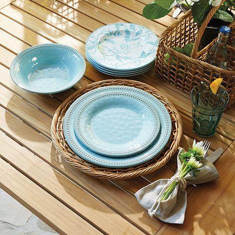 Rosa Melamine Dinnerware - Classic and durable outdoor plates & Rosa Melamine Dinnerware | Melamine dinnerware Dinnerware and Ware F.C.