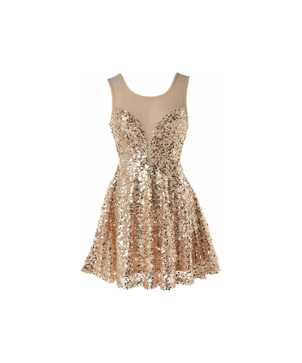 Golden Glitz Dress | Fashion | Pinterest