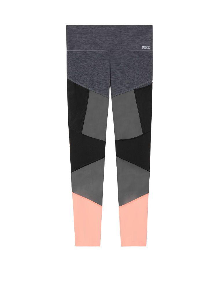 d8b9eeff5da038 Ultimate High Waist Bonded Mesh Legging - PINK - Victoria's Secret ...