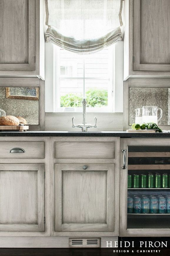 +20 The Most Popular Gray Glazed Kitchen Cabinets Diy 5 - apikhome.com #graykitchencabinets
