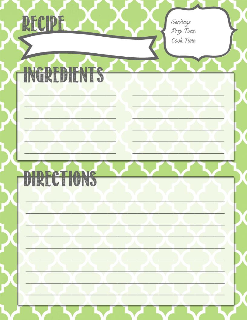 Melanie Gets Married Recipe Binder Printables Recipe Binder Printables Recipe Book Diy Family Recipe Book