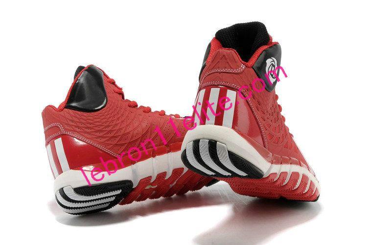 new concept 212b5 9b347 Adizero Rose 773 II,Adidas D Rose Shoes 2013 Gym Red Black Q33221