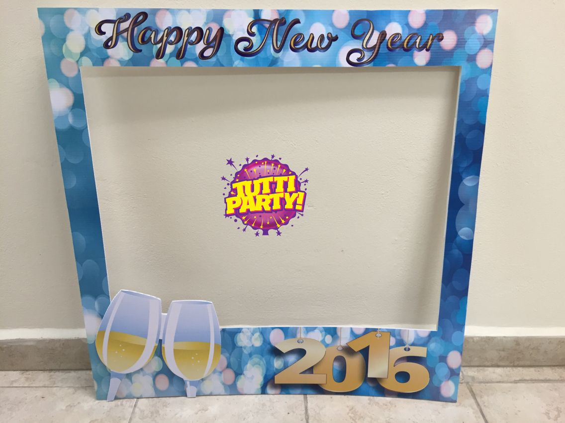 Mega marcos, Photo frame, new year frame, Party props, new