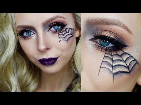 quick easy halloween makeup cosmobyhaley youtube. Black Bedroom Furniture Sets. Home Design Ideas