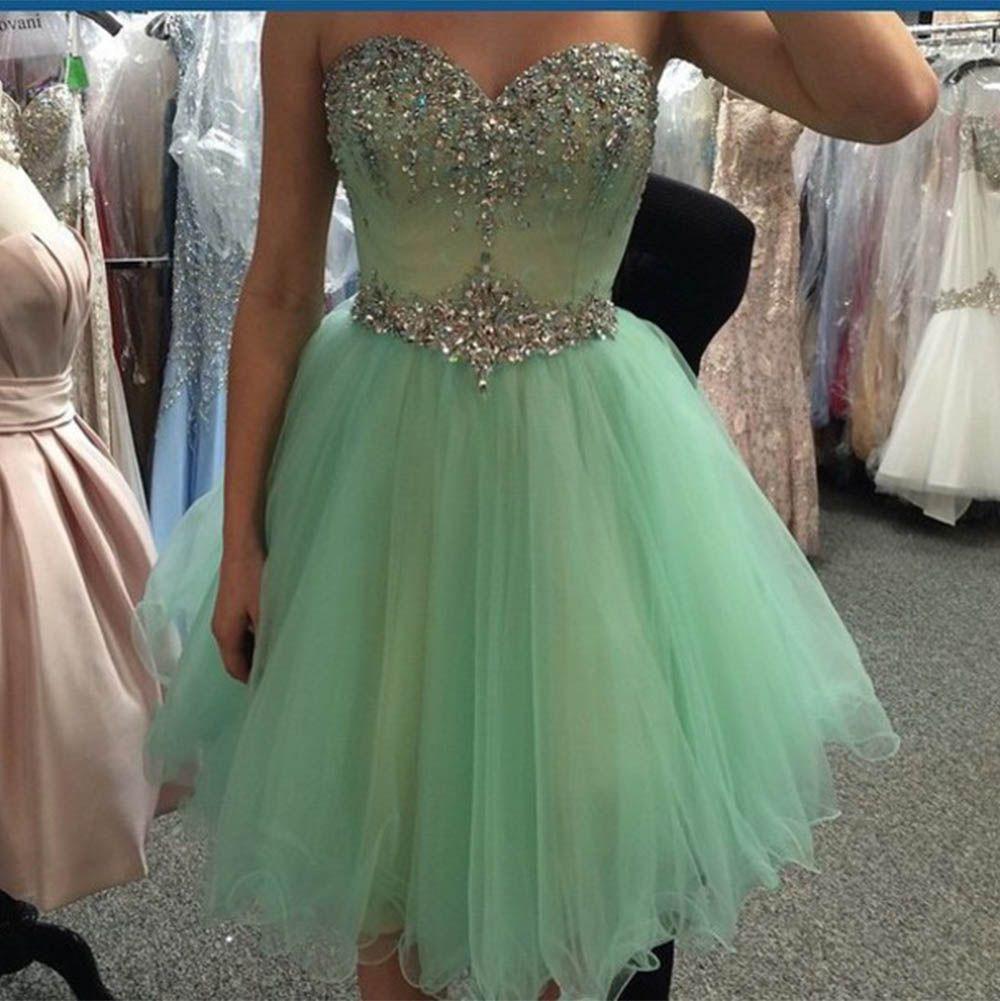 Crystal beaded homecoming dresses homecoming pinterest